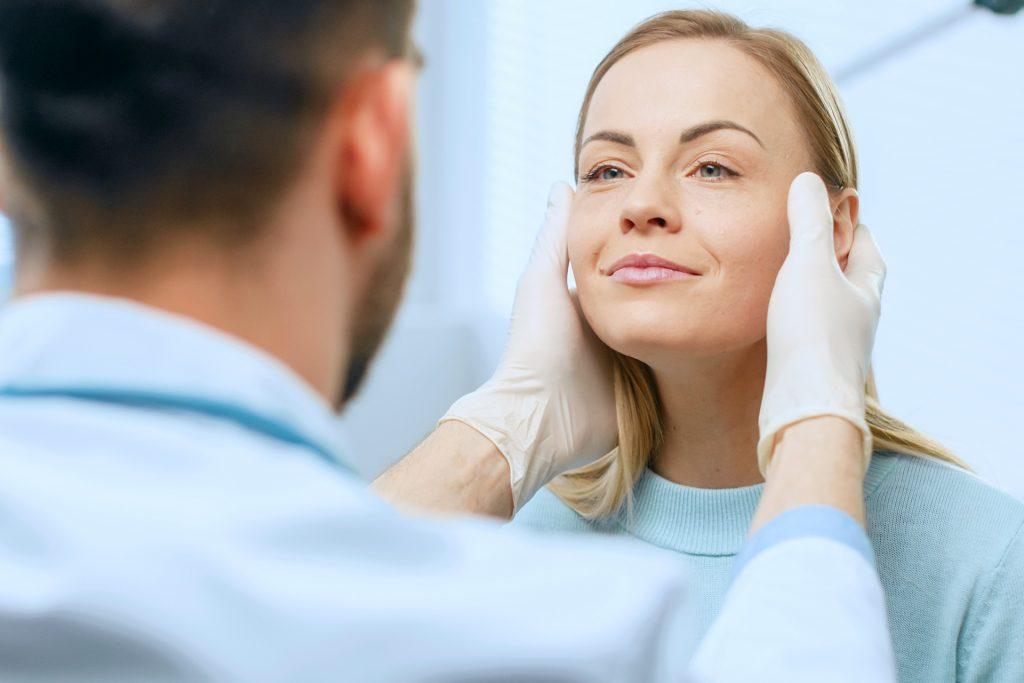 ästhetische Gesichtschirurgie